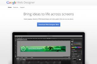 Google Web Designer ベータ版がリリース