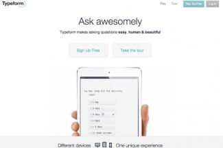 Typeform.comを利用してコンタクトフォームを作成してみた