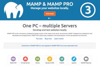 MAMPのバージョン3がリリース! そしてwindows版も?