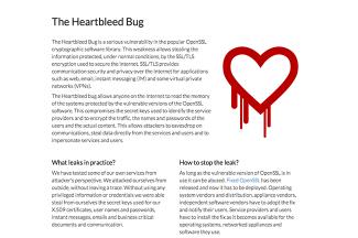 [HeartBleed] ネットの世界では対岸の火事という言葉は存在しないって話