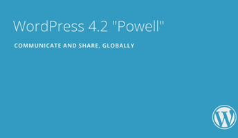 WordPressのバージョン4.2がリリース