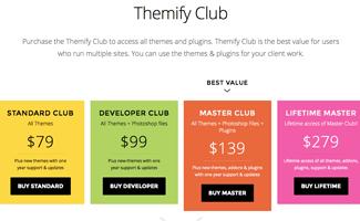Themifyに買い切りタイプのプランが登場