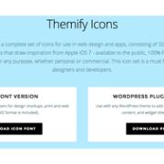 Themifyのアイコンセットがwordpressプラグインとして利用可能に!